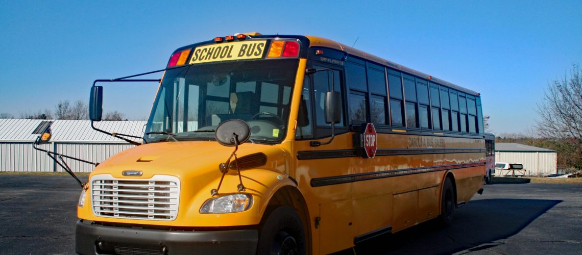 new school bus or used